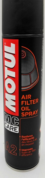 MOTUL Luftfilterspray MC CARE A2 400 ml Luftfilteröl